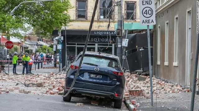 Trzęsienie ziemi o sile 5,9 w pobliżu Melbourne w Australii